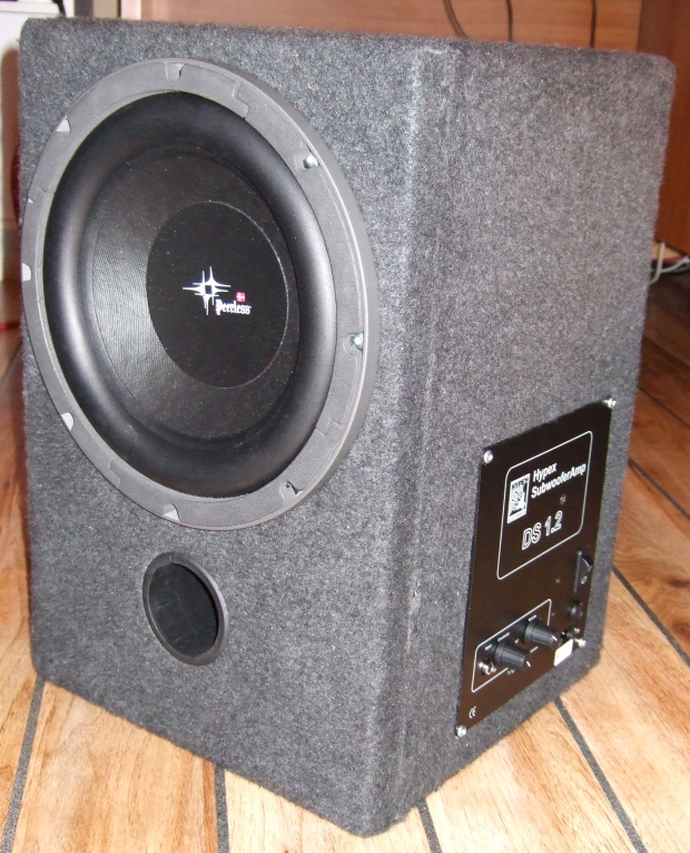 My subwoofer & My Home Page - Some of my projects Aboutintivar.Com